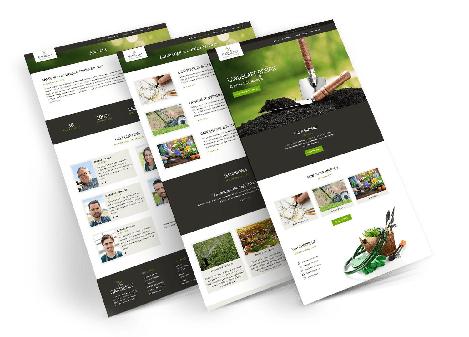 divi child theme gardenly